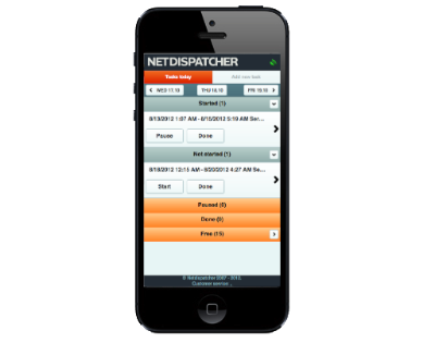 Mobile Dispatcher Software